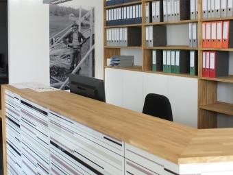 Büroeinrichtung Krapf-Bau