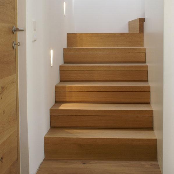 Treppe Mit Schubladen Tischlerei Putzer Brixen