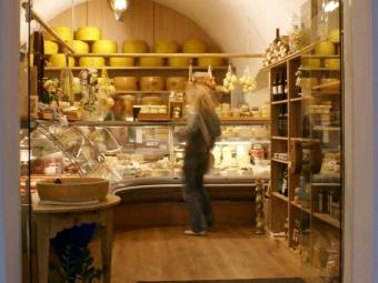 Negozio di formaggi a Bressanone