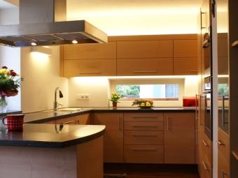 Küche Holz