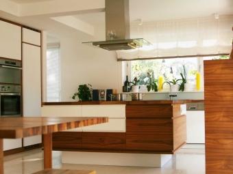 Küche Nussbaum